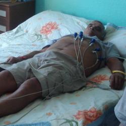 Καρδιογράφημα κατ' οίκον σε κάτοικο της Ίμβρου